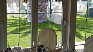 Salones con vistas al jardín, Restaurante Las Cañas Mostoles
