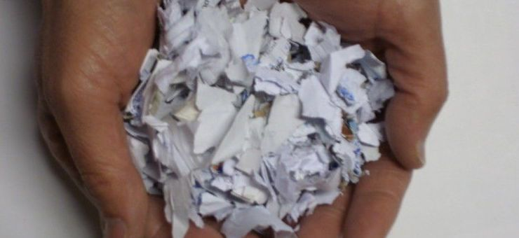 Servicio de recogida y destrucción de documentos y archivos