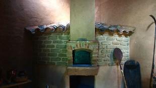 Horno tradicional de leña ubicado en nuestro museo