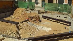 Fabricación de vigas de metal para la construcción