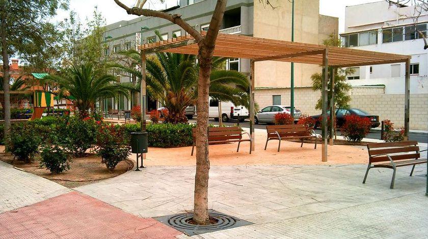 Plaza Vora Riu. Puerto de Sagunto.