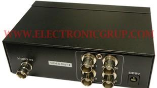 Distribuidor BNC, 1 entrada - 4 salidas