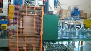 Fábrica de envasado de agua potable en Valencia