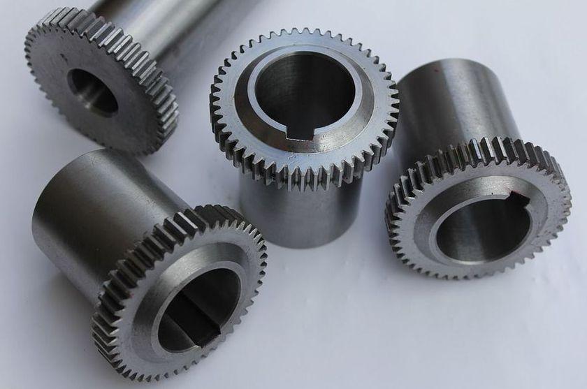 Mecanización de piezas diversas