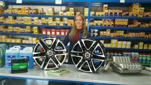 Repuestos para llantas y neumáticos