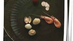 Venta de almejas y camarones