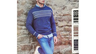 Jersey de caballero azul en Gijón