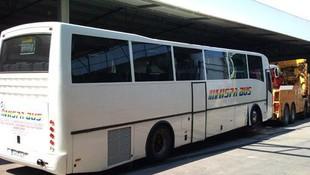 Grúas urgentes para autobuses en Hospitalet de Llobregat, Barcelona