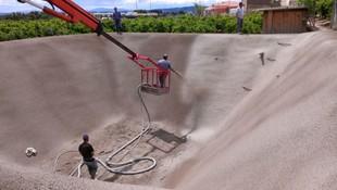 Construcción de depósitos