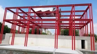Instalación solar para alumbrado anfiteatro