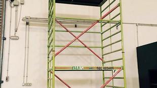 Andamios ligeros para montajes e instalaciones de todo tipo