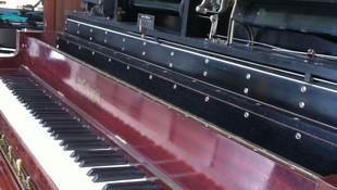 Pianola restaurada