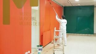 Pintura Interior Museo Municipal de Molins de Rei.