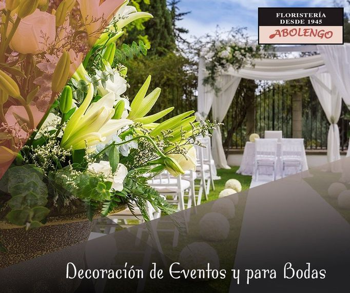 ¿Tienes que decorar tu boda? Cuenta con nosotros.