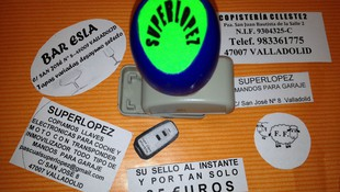 Sellos de caucho para negocios y empresas en Valladolid
