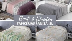 EDREDONES Y BOUTIS EN TAPICERIAS PANIZA