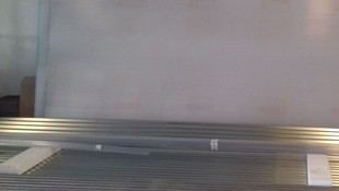 Placas de policarbonato y chapa de hierro de cubierta de 6 m