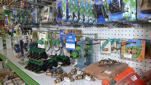 Material para riego de jardines en Alicante