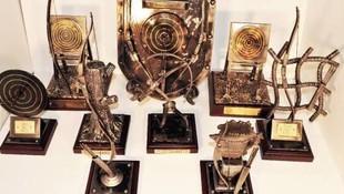 Trofeos realizados en forja