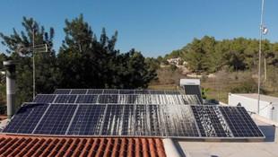 Trabajos de instalación de placas solares