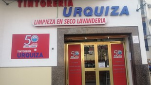 Tintorería Urquiza, 50 años contigo