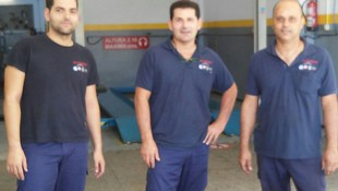 Nuestro equipo de mecánicos!!!