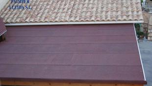 Impermeabilización de tejado de porche