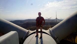 Mantenimiento de parques eólicos