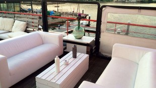 Restaurante terraza en Combarro