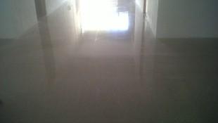 suelo terrazo terminado