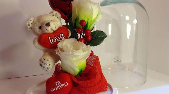 Mandrágora Floristería os desea un feliz San Valentín