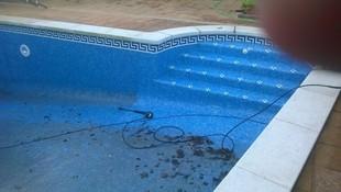 Rehabilitación de fondo de piscina