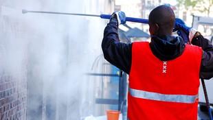 Tratamiento especial para la eliminación de grafittis en Terrassa