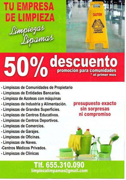 Especialistas en todo tipo de limpiezas en Sevilla