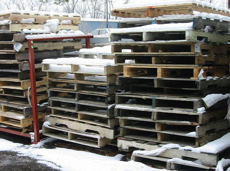 Fabricación de palés de madera