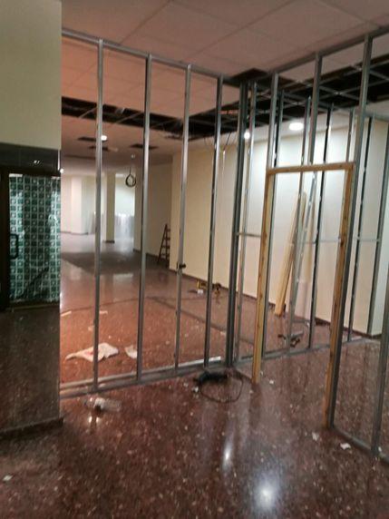 Instalación de pladur en locales y oficinas en Zaragoza