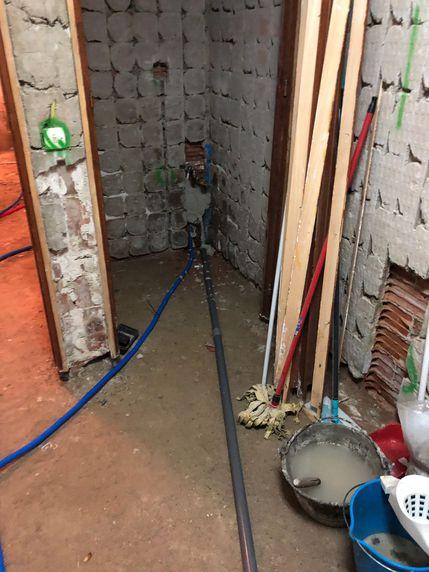 Instalación de tuberías nuevas en Móstoles