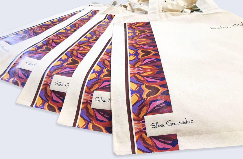 Bolsos personalizados con vinilo textil de impresión