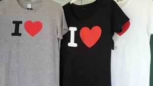 Venta de camisetas