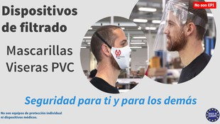 Visera de PVC: otra herramienta para luchar contra el Coronavirus