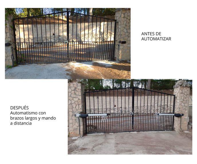 Instalación de puertas automáticas en Valencia