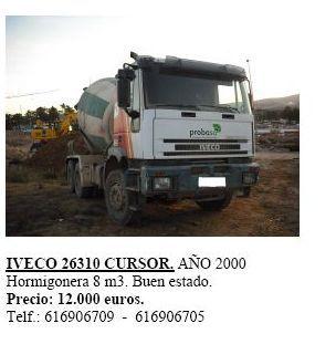 Iveco 26310 Cursor año 2000
