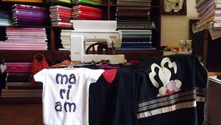 Camisetas personalizadas con Patchwork