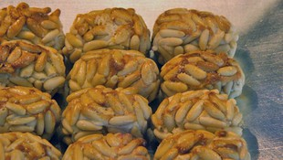 Venta de productos típicos del norte de Extremadura