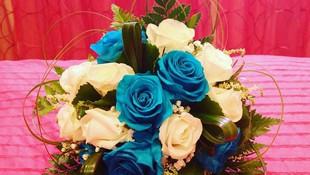 Ramo de novia flor eterna