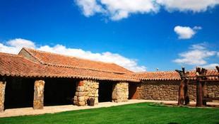 Patio de El Corralón de Perahuy, un buen lugar para relajarse y disfrutar