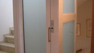 Estructura de cierre para elevador en Barcelona