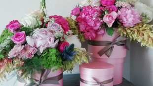 Nuestras cajas de flores#Bulgari Ibiza#