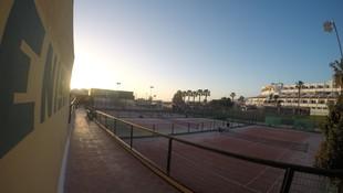 Pistas de tenis en Costa Adeje