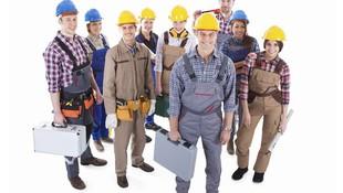 Profesionales en el sector de la construcción